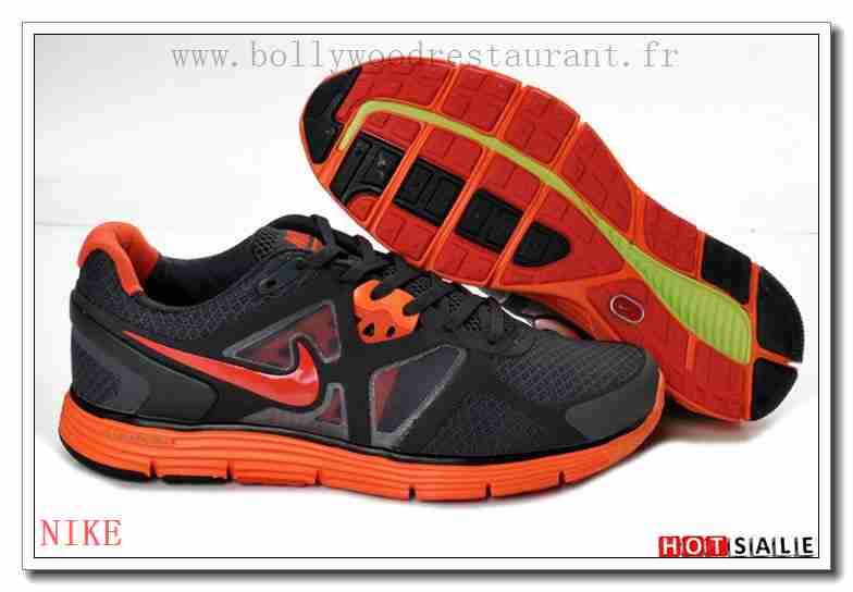 finest selection 308ac 645a1 SB1622 Comme La Plupart Nike LunarGlide+ 3 Training Noir Orangerouge  Darkgray 2018 Nouveau style Soldes -