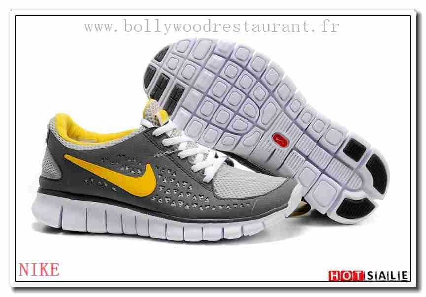 pretty nice 89abe a2af6 TY3000 Classique Nike Free Run + Dark gris Jaune gris blanc 2018 Nouveau  style Soldes -