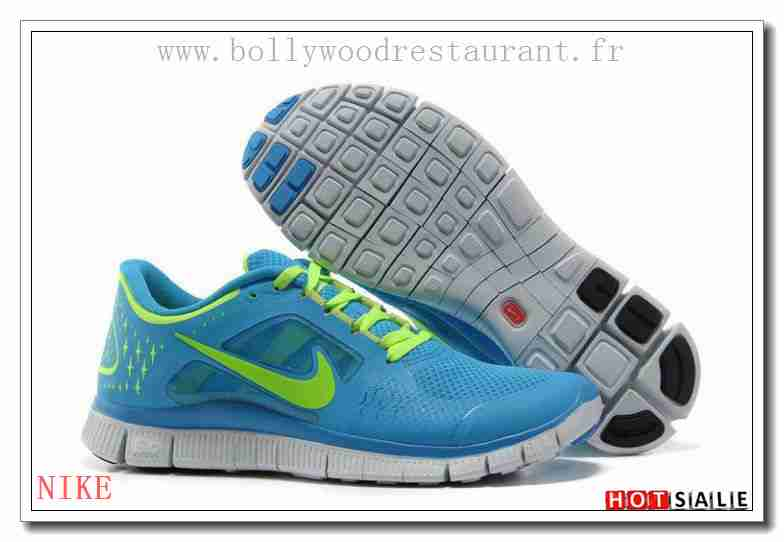 new products e8816 fed56 QH1724 Abordable Nike Free Run + 3 Lightweight Lawnvert SkyBleu 2018  Nouveau style Soldes - F.R.J.