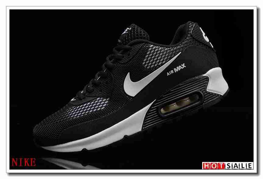 hot sale online 9af6b f3861 BK1153 Meilleur Prix Chaussure 2018 Femm s Air Max 90 2016 blanc noir Bleu  Promotions 2018 Nouveau   Nike ...