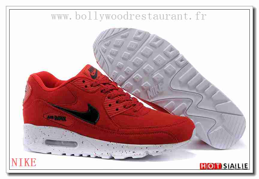 new styles 08445 c0c6e FZ8532 Matériaux lavables 2018 Femm s Air Max 90 rouge Confortable   Cool -  F.R.A.N.C.E761 -