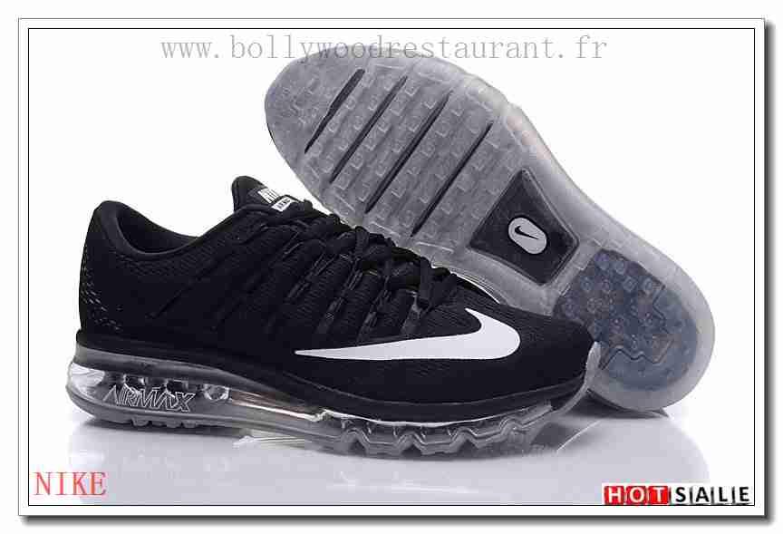 air max 2016 blanche noir