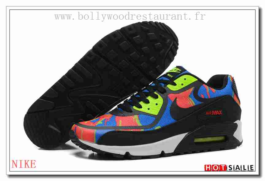 2ec8c5bd01774c ML0146 Shopping en ligne 2018 Homme s Air Max 90 2014 blanc noir Bleu Le