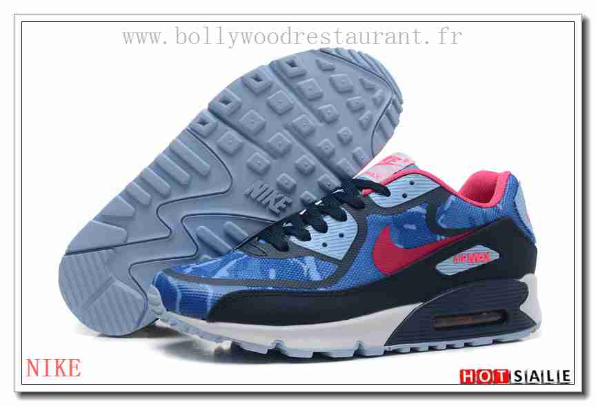purchase cheap a2479 035ab nike air max90 2015 soldes noir blue