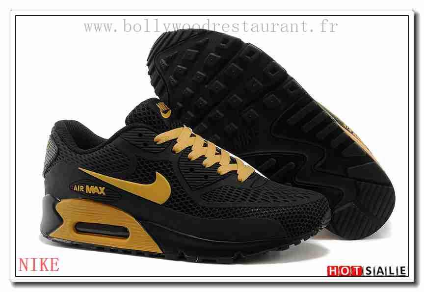 JO0965 nettoyage facile 2018 Homme's Air Max 90 L'été noir Chaussures de  course - F.R.A.N.C.E993 - NIKE AIR MAX