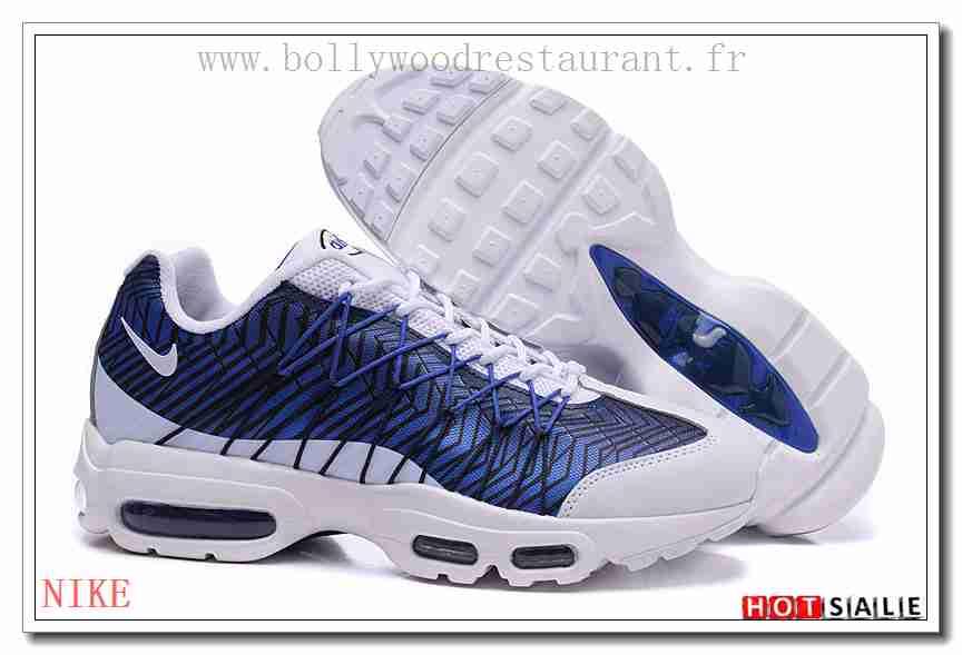 air max 95 bleu blanc noir