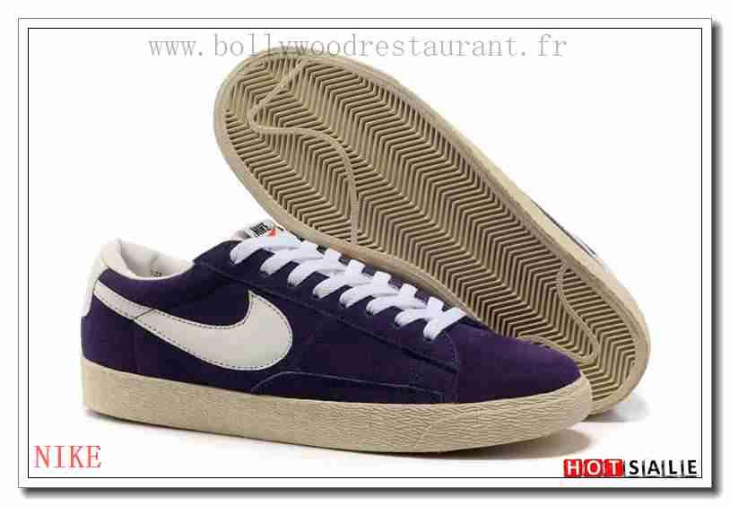 the best attitude 802d7 5ba98 WK7722 Urbain 2018 Femm s Blazer Low violet Confortable   Cool -  F.R.A.N.C.E758 - NIKE BLAZER