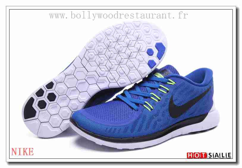 new concept bdd24 04b75 OB8661 Confortable 2018 Homme s Free Run 5.0 +2 blanc noir Bleu Confortable
