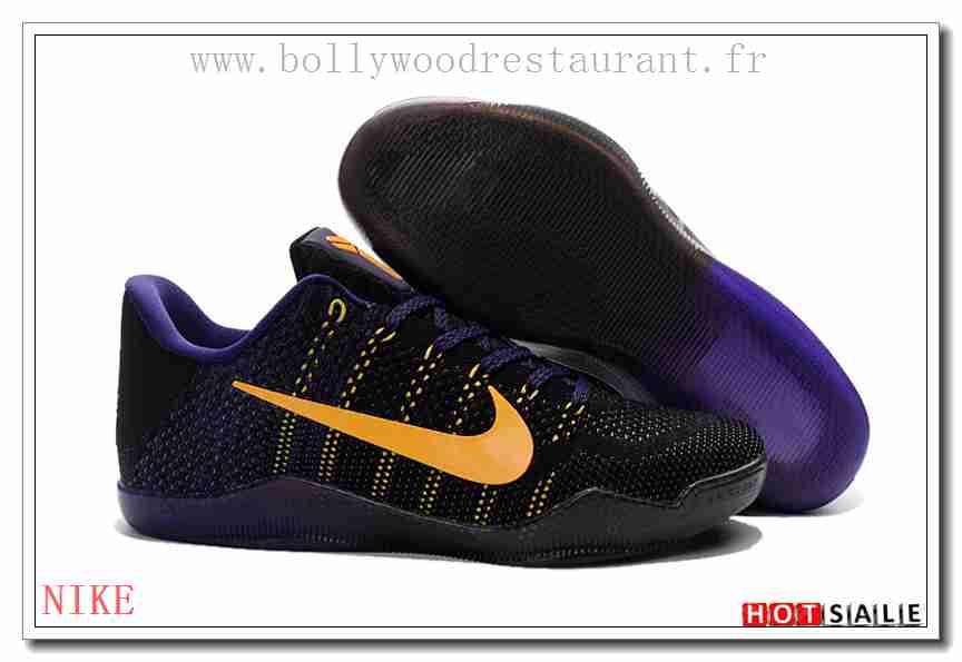 buy online 6b06e 21399 KT0008 Qualité 100% Garanti 2018 Homme s Kobe 11 noir Chaussure de  basket-ball -