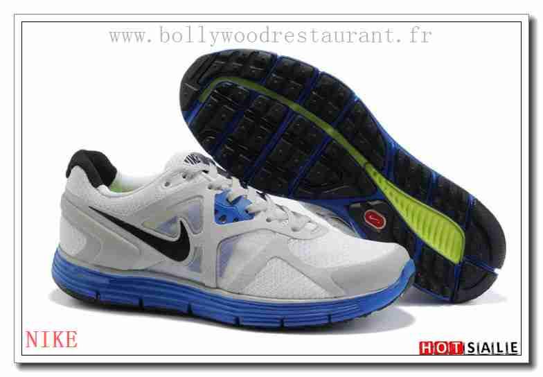 size 40 bea50 6ad3c JO4640 Shopping en ligne Nike LunarGlide+ 3 blanc Gray RoyalBleu 2018  Nouveau style Soldes - F.R.J.