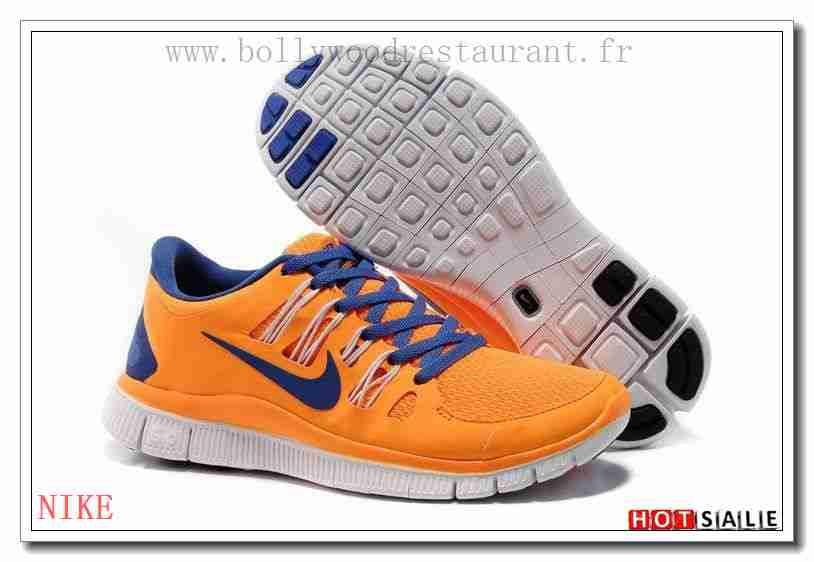 wholesale dealer e0764 60d7d HV1167 Semelle Synthétique Nike Free Run+ 50 Orange Royal Bleu 2018 Nouveau  style Soldes - F.R.J.
